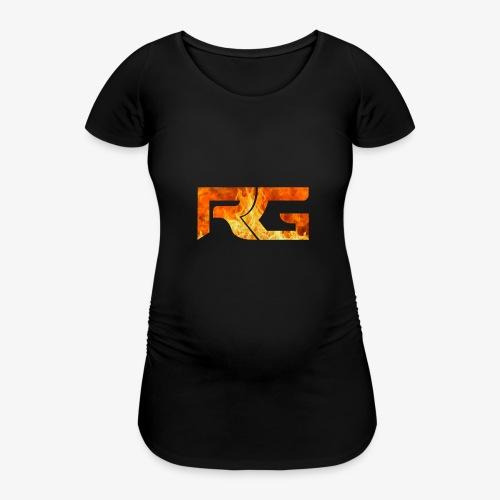 Revelation gaming burns - Women's Pregnancy T-Shirt