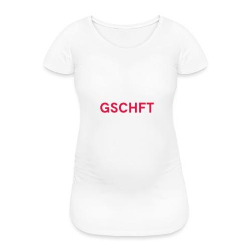 MHR GSCHFT €$£¥ - Frauen Schwangerschafts-T-Shirt