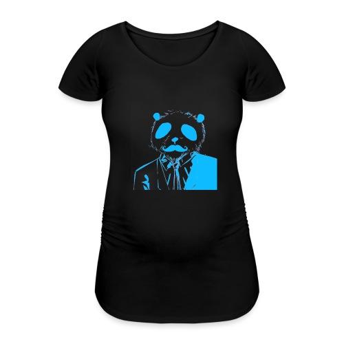 BluePanda Logo - Women's Pregnancy T-Shirt