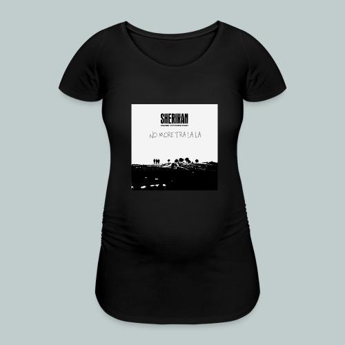 No more tra la la - Gravid-T-shirt dam