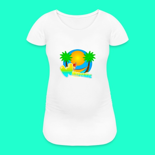For The Summer - Women's Pregnancy T-Shirt