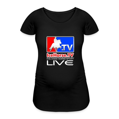 IceHorse logo - Women's Pregnancy T-Shirt