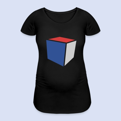 Cube Minimaliste - T-shirt de grossesse Femme
