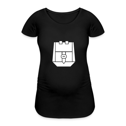 Reppu valkoinen - Naisten äitiys-t-paita