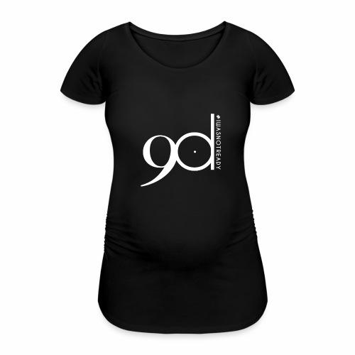 logoblanc - Frauen Schwangerschafts-T-Shirt