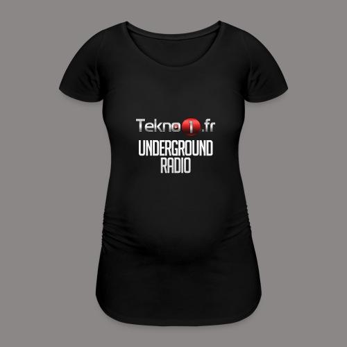 logo tekno1 2000x2000 - T-shirt de grossesse Femme