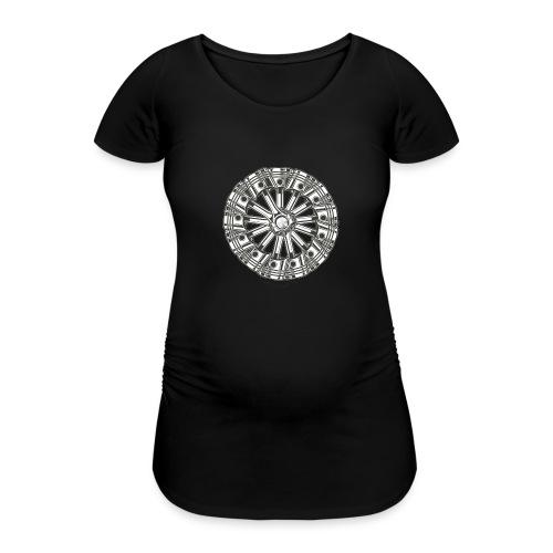 zuiger rol - Vrouwen zwangerschap-T-shirt
