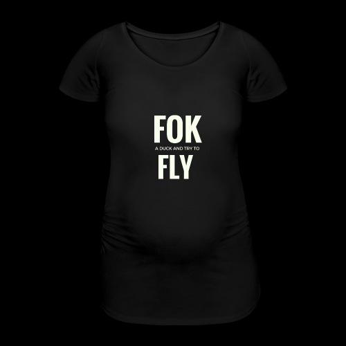 duckY - T-shirt de grossesse Femme