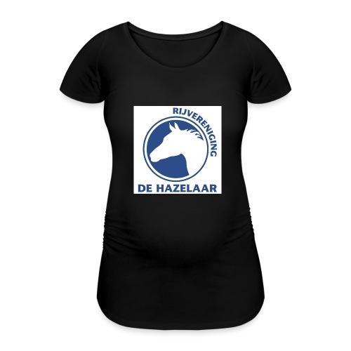 LgHazelaarPantoneReflexBl - Vrouwen zwangerschap-T-shirt