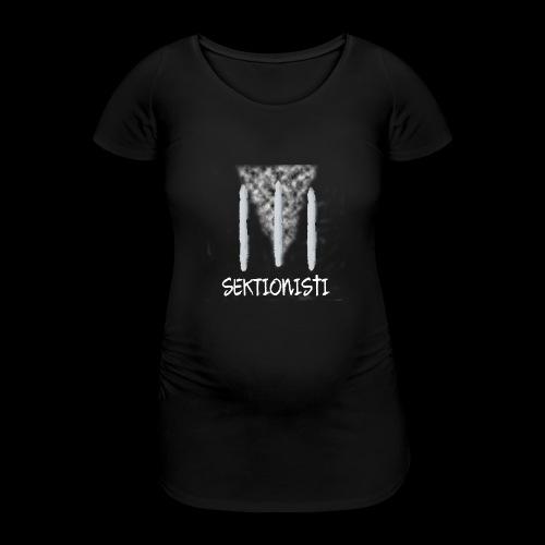 sektionisti 1 - Naisten äitiys-t-paita