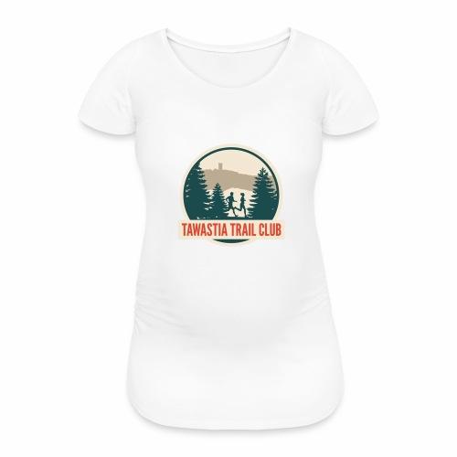 TawastiaTrailClub - Naisten äitiys-t-paita