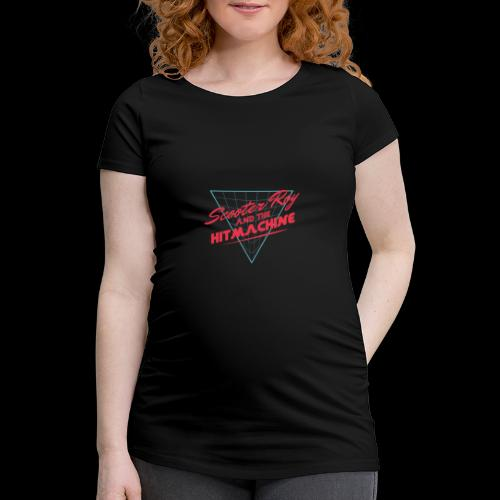 ScooterRoy and the Hitmachine - Vrouwen zwangerschap-T-shirt