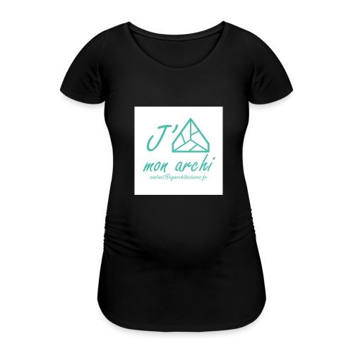 J aime mon archi - T-shirt de grossesse Femme