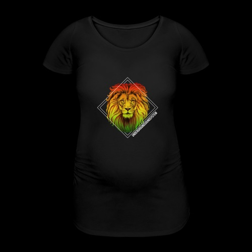 LION HEAD - UNDERGROUNDSOUNDSYSTEM - Frauen Schwangerschafts-T-Shirt