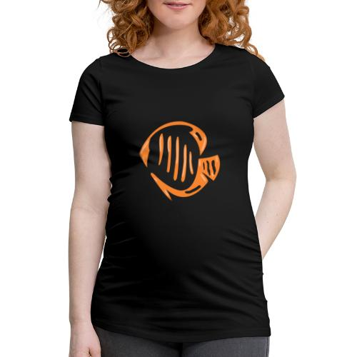 Aquarium Adventures Logo - Women's Pregnancy T-Shirt