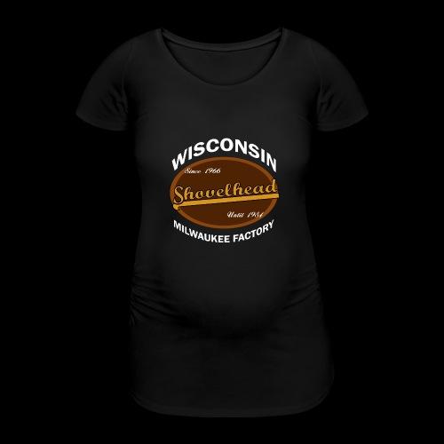Milwaukee Shovelhead - Frauen Schwangerschafts-T-Shirt