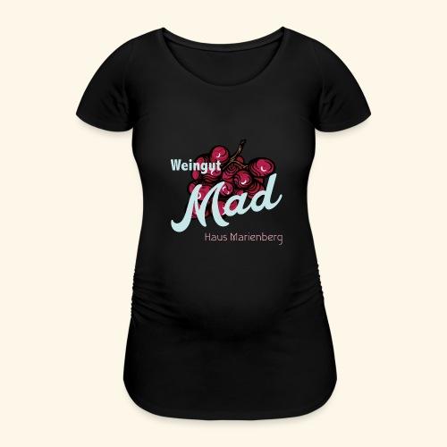 Rote Traube - Frauen Schwangerschafts-T-Shirt