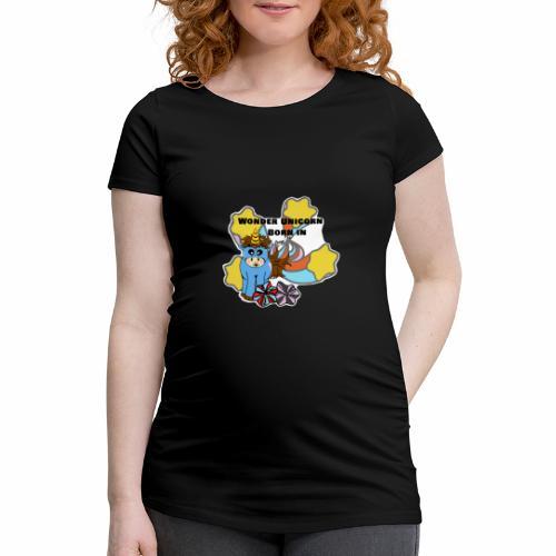 Une merveilleuse licorne est née (pour garcon) - T-shirt de grossesse Femme