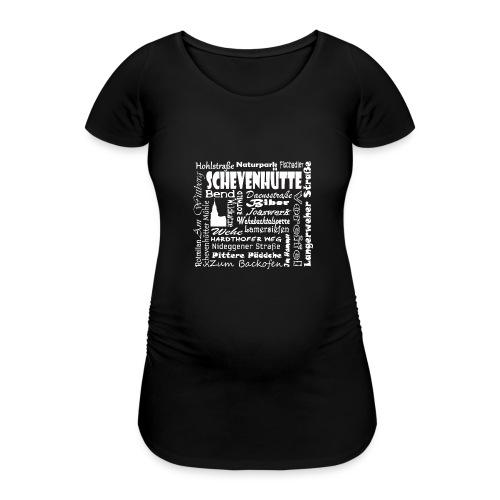 Alles in Schevenhütte - Frauen Schwangerschafts-T-Shirt