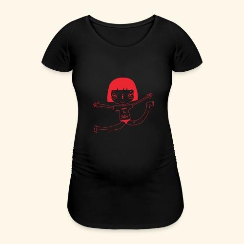 logo happy - T-shirt de grossesse Femme