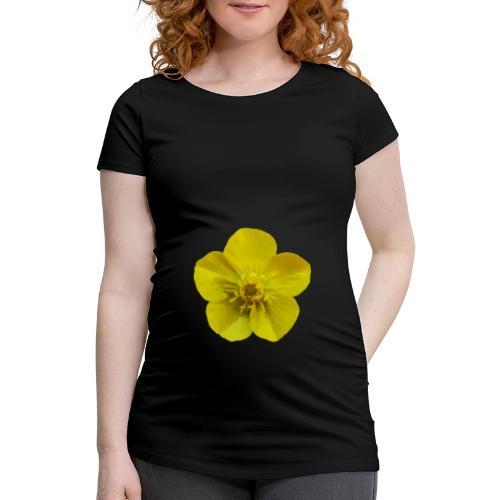 TIAN GREEN Garten - Hahnenfuß 2020 01 - Frauen Schwangerschafts-T-Shirt
