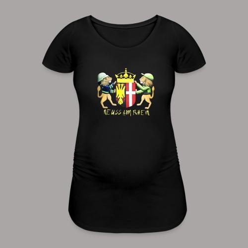 Neuss am Rhein - Frauen Schwangerschafts-T-Shirt