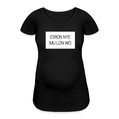 ESRON NYE MU LON WO - T-shirt de grossesse Femme