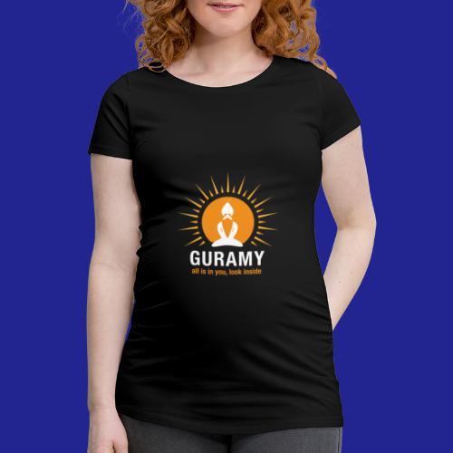 final white con scritta CORRETTO - Women's Pregnancy T-Shirt
