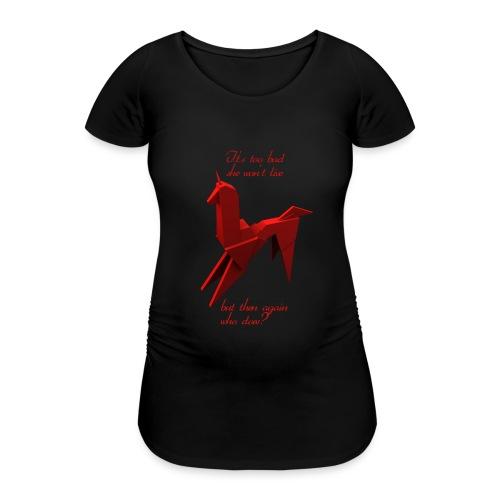 UnicornioBR2 - Camiseta premamá