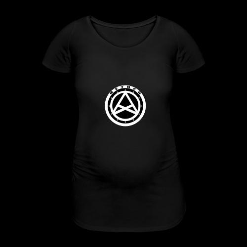 Nether Crew Black\White T-shirt - Maglietta gravidanza da donna