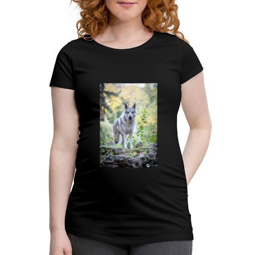 La Tanière des Chiens-Loups - T-shirt de grossesse Femme
