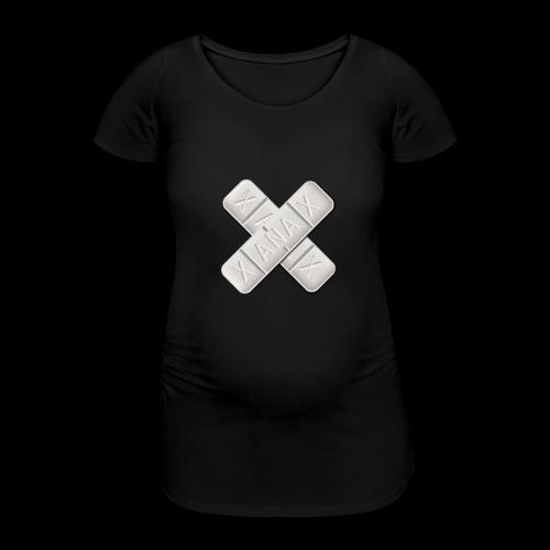 Xanax X Logo - Frauen Schwangerschafts-T-Shirt