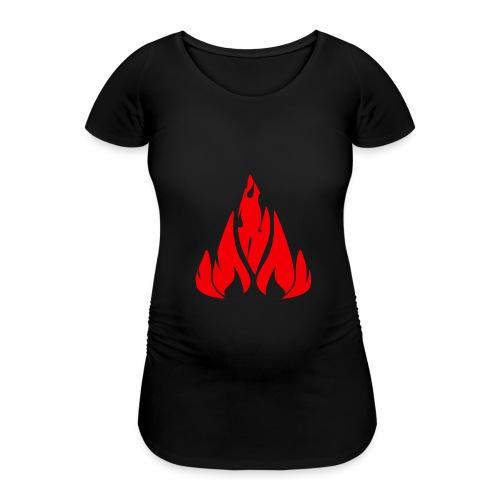 fire - Women's Pregnancy T-Shirt