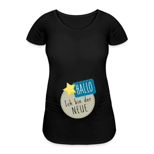 Hallo, ich bin der Neue Babybody Geburt Geschenk - Frauen Schwangerschafts-T-Shirt