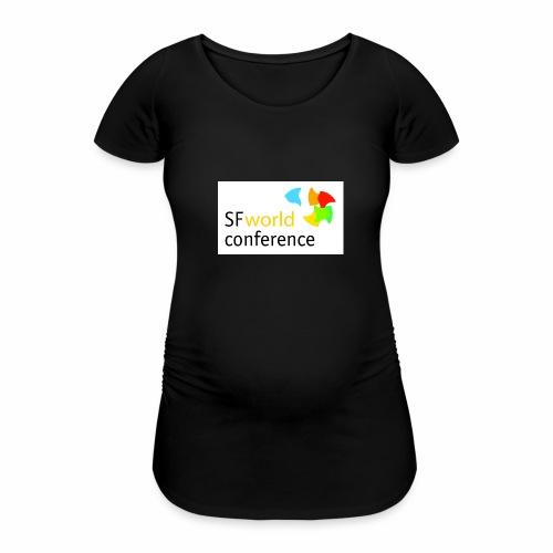 SFworldconference T-Shirts - Frauen Schwangerschafts-T-Shirt