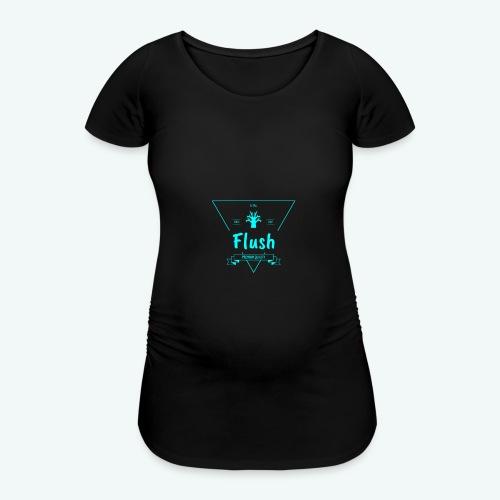 Flush - Vrouwen zwangerschap-T-shirt