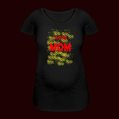 I LOVE MOM - T-shirt de grossesse Femme
