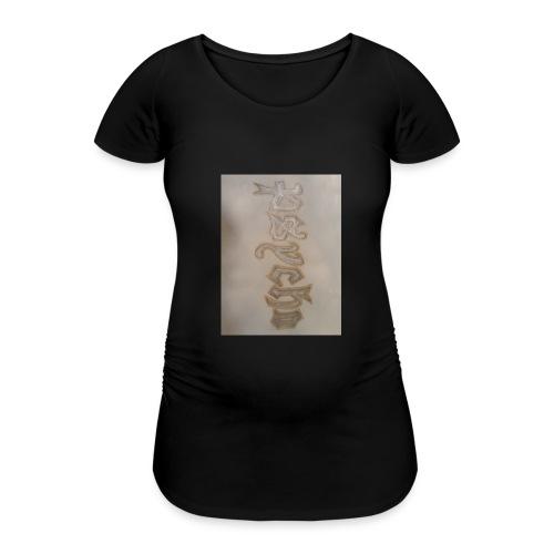 Simon Psycho Artist - Vrouwen zwangerschap-T-shirt
