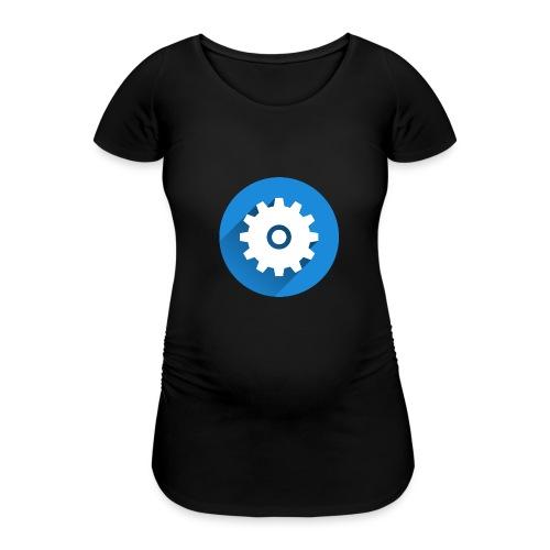 Caneca Canal LM Tutors - Women's Pregnancy T-Shirt