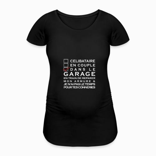 Celibataire en couple etc - T-shirt de grossesse Femme