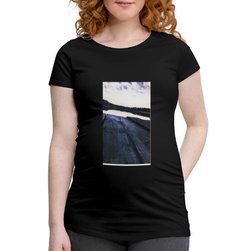 Zachód na roztoczu - Koszulka ciążowa