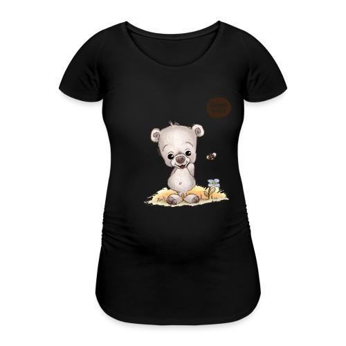 Noah der kleine Bär - Frauen Schwangerschafts-T-Shirt