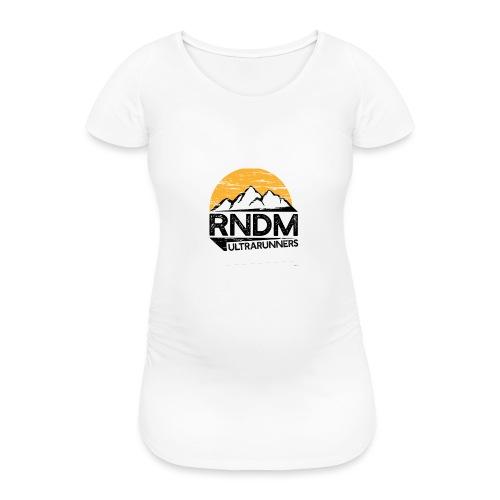RndmULTRArunners T-shirt - Women's Pregnancy T-Shirt