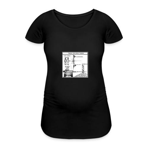 W.O.T War tactic, tank shot - Women's Pregnancy T-Shirt