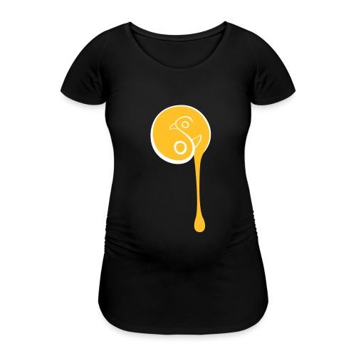 YinYang Birds - Frauen Schwangerschafts-T-Shirt