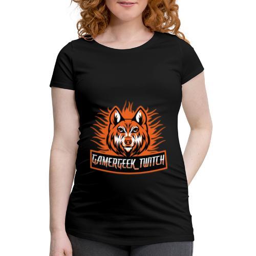 GamerGeek Logo XXXL - Frauen Schwangerschafts-T-Shirt
