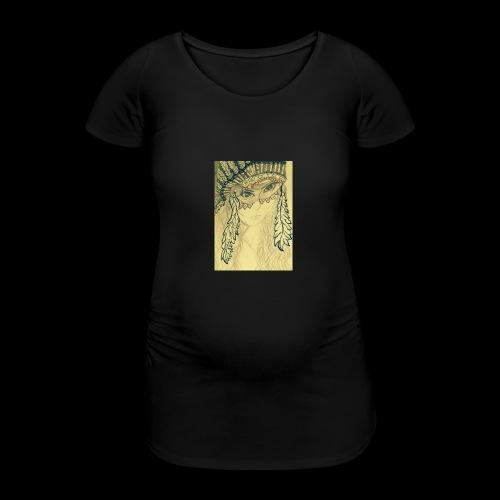 IMG 0680 2 - Vrouwen zwangerschap-T-shirt
