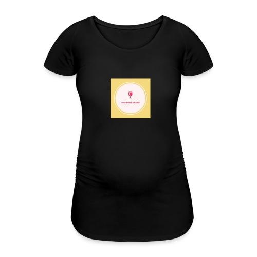 mehr brauch ich nicht - Frauen Schwangerschafts-T-Shirt