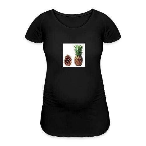 Pineapple - Women's Pregnancy T-Shirt