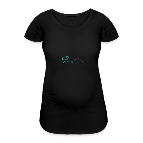 Banta Logo medium - Women's Pregnancy T-Shirt